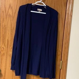 Forever 21 Navy Cardigan Size Small
